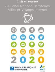 21e Label National Territoires, Villes et Villages Internet