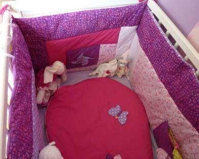 tuto tour de lit de b b int gral cid 1cid 2. Black Bedroom Furniture Sets. Home Design Ideas