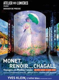 Chagall renoir monet - Culturespaces