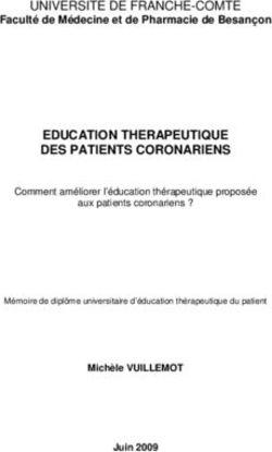 diplome universitaire education therapeutique du patient