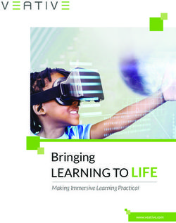 Bringing LEARNING TO LIFE - Making Immersive Learning Practical - VEATIVE 2018