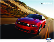 Ford Mustang 2014. Brochure.