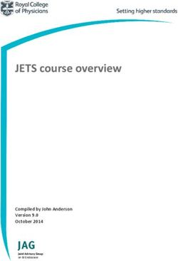 JETS course overview