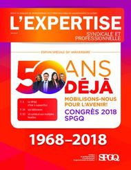 Syndicale et professionnelle - spgq