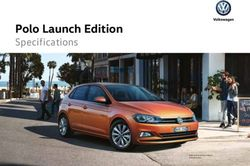 Polo Launch Edition - Specifications