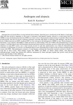 Androgens and alopecia - Keith D. Kaufman