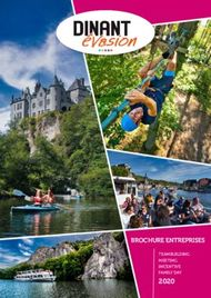 BROCHURE ENTREPRISES TEAMBUILDING MEETING INCENTIVE FAMILY DAY - Dinant Evasion