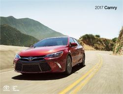Toyota Camry 2017. Brochure.