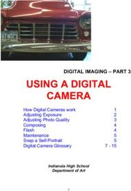 USING A DIGITAL CAMERA - DIGITAL IMAGING - PART 3