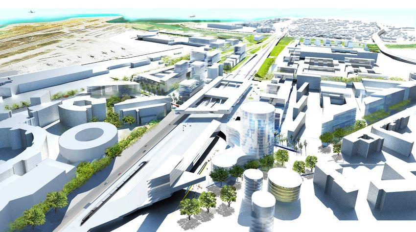 Véritable porte urbaine à Nice Ouest - Eco-Vallee OIN Plaine du Var