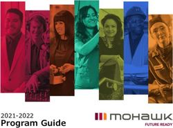 Mohawk Program Guide 2021-2022
