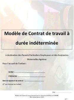 Modele De Contrat De Travail A Duree Indeterminee