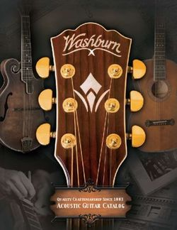 WASHBURN - ACOUSTIC GUITAR CATALOG 2018