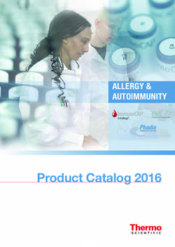 Phadia Product Catalog 2016 - Allergy & Autoimmunity