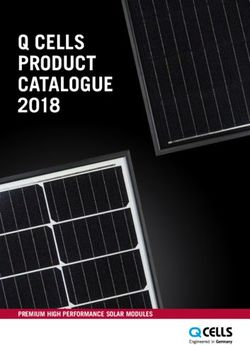 Q CELLS PRODUCT CATALOGUE 2018