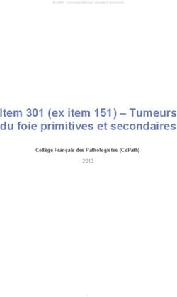 Item 151 : Tumeurs du foie primitives et secondaires