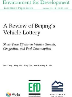 A Review of Beijing's Vehicle Lottery
