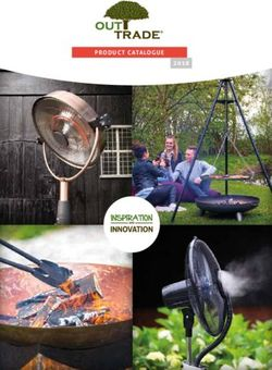 Out Trade Product Catalogue 2018 - Inspiration and Innovation