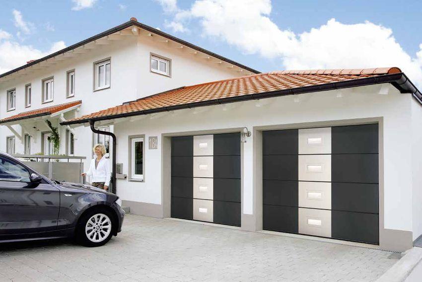 Portes de garage sectionnelles ouvertes vos besoins for Porte de garage sectionnelle normstahl