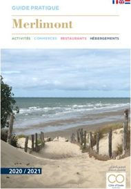 Merlimont 2020 / 2021 - GUIDE PRATIQUE - Le Touquet