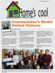 Home's cool - Communidée's Model United Nations