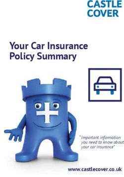 Your Car Insurance Policy Summary