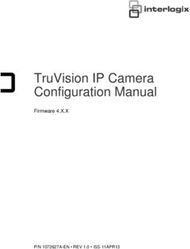 TruVision IP Camera Configuration Manual