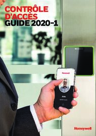 CONTRÔLE D'ACCÈS GUIDE 2020-1 - Honeywell Security