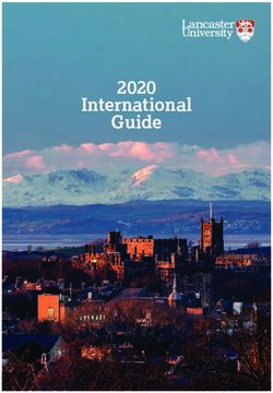 Lancaster University 2020 International Guide