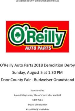 O'Reilly Auto Parts 2018 Demolition Derby Sunday, August 5 at 1:30 PM Door County Fair - Budweiser Grandstand