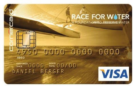 tous les avantages de la carte de cr dit race for water visa. Black Bedroom Furniture Sets. Home Design Ideas
