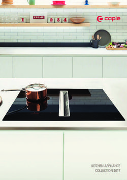 Kitchen Appliance Collection 2017 - Caple