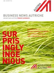BUSINESS NEWS AUTRICHE - ADVANTAGE AUSTRIA FRANCE & MONACO