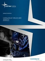 CATALOGUE WELDCARE 2020/21 - Lasting Connections - voestalpine