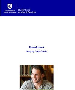 Enrolment - Step by Step Guide