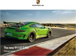 The new 911 GT3 RS 2018 - Challengers wanted