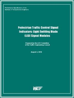 Prepared by the LED Committee of the Traffic Engineering Council