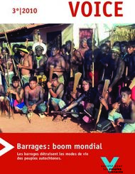 Barrages: boom mondial