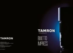Tamron Lens Catalogue 2017