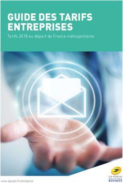Guide Des Tarifs Entreprises Tarifs 2018 Au Départ De