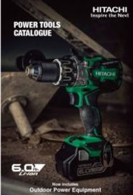 Hitachi Power Tools Catalogue 2016