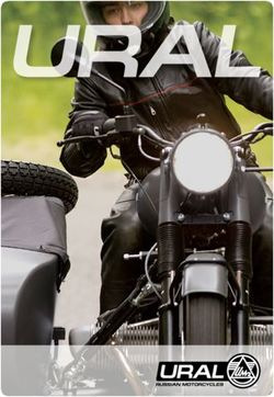 Ural 2015. Russian Motorcycles. Brochure.